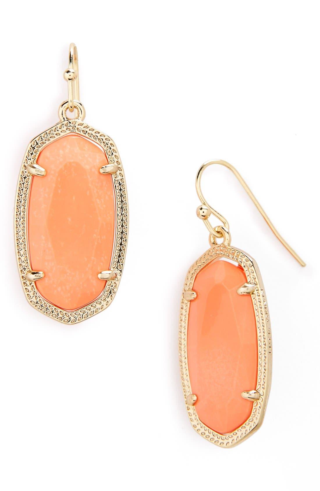 ,                             Dani Stone Drop Earrings,                             Main thumbnail 77, color,                             950