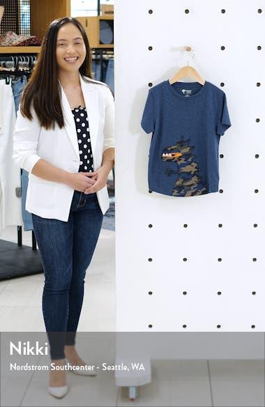 Un-Be-Leaf-Able Zip Detail T-Shirt, sales video thumbnail