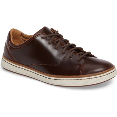 Clarks Norsen Lace Sneaker- Brown