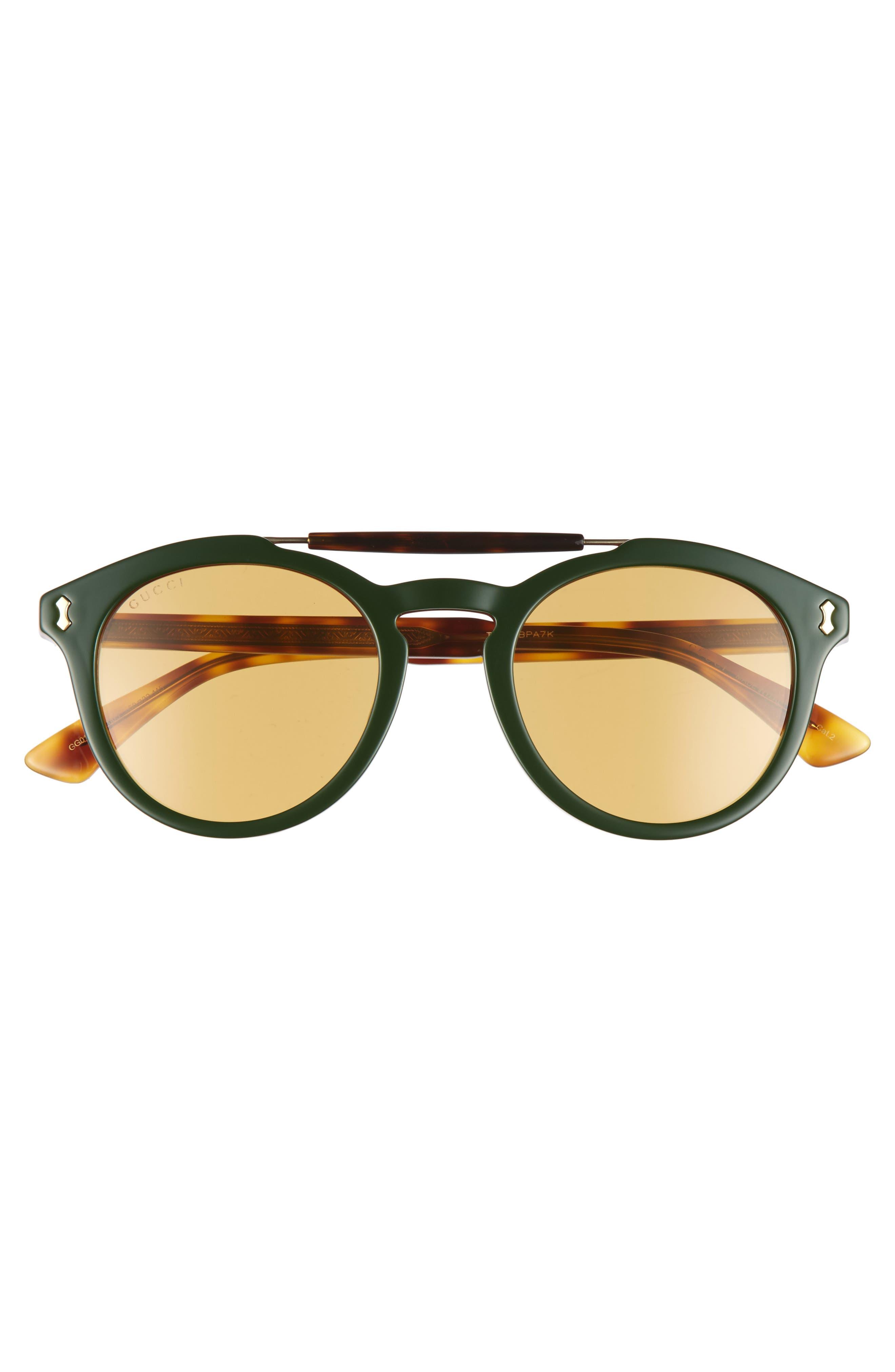,                             Vintage Pilot 50mm Sunglasses,                             Alternate thumbnail 4, color,                             304
