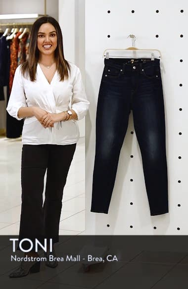 b(air) High Waist Skinny Jeans, sales video thumbnail