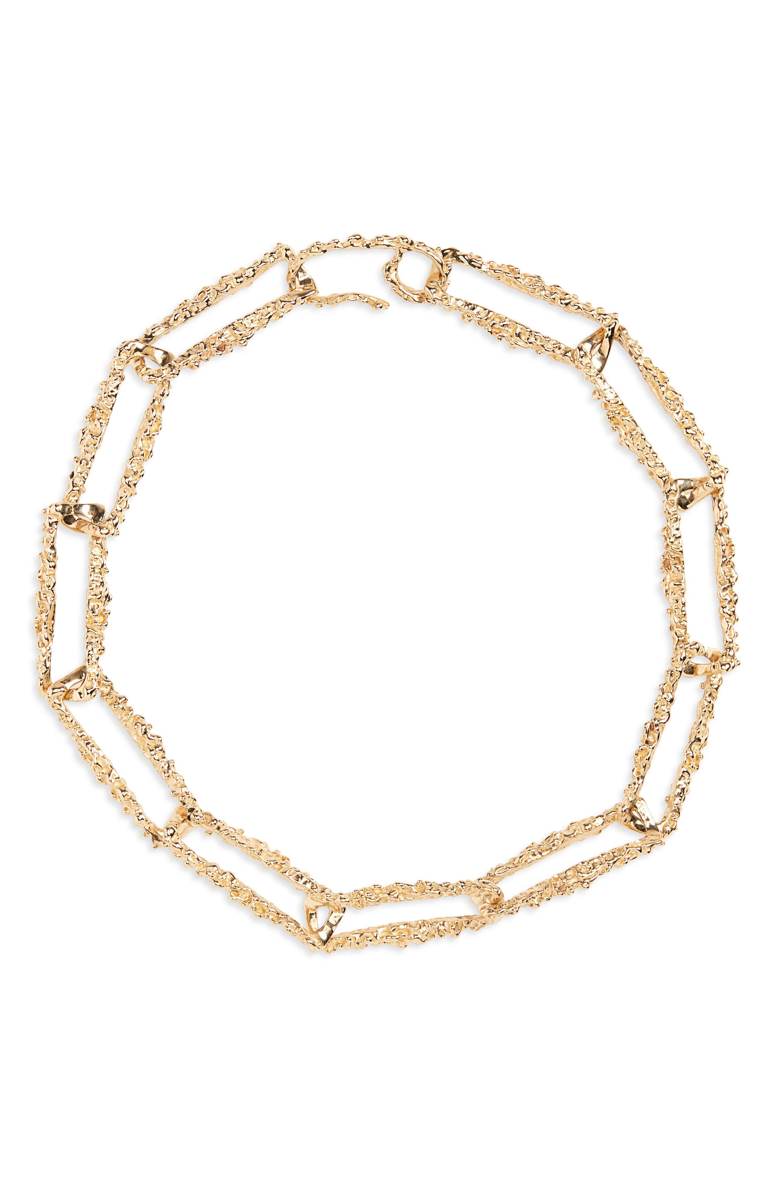 Roca Chain Link Necklace