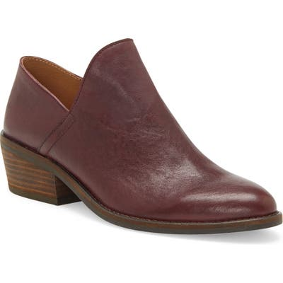 Lucky Brand Fausst Bootie- Red