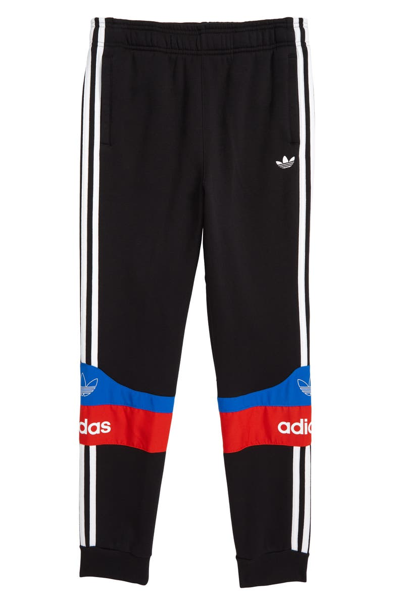 ADIDAS ORIGINALS Outline Sweatpants, Main, color, BLACK/ WHITE