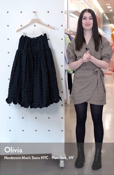Kasumi Seersucker Skirt, sales video thumbnail