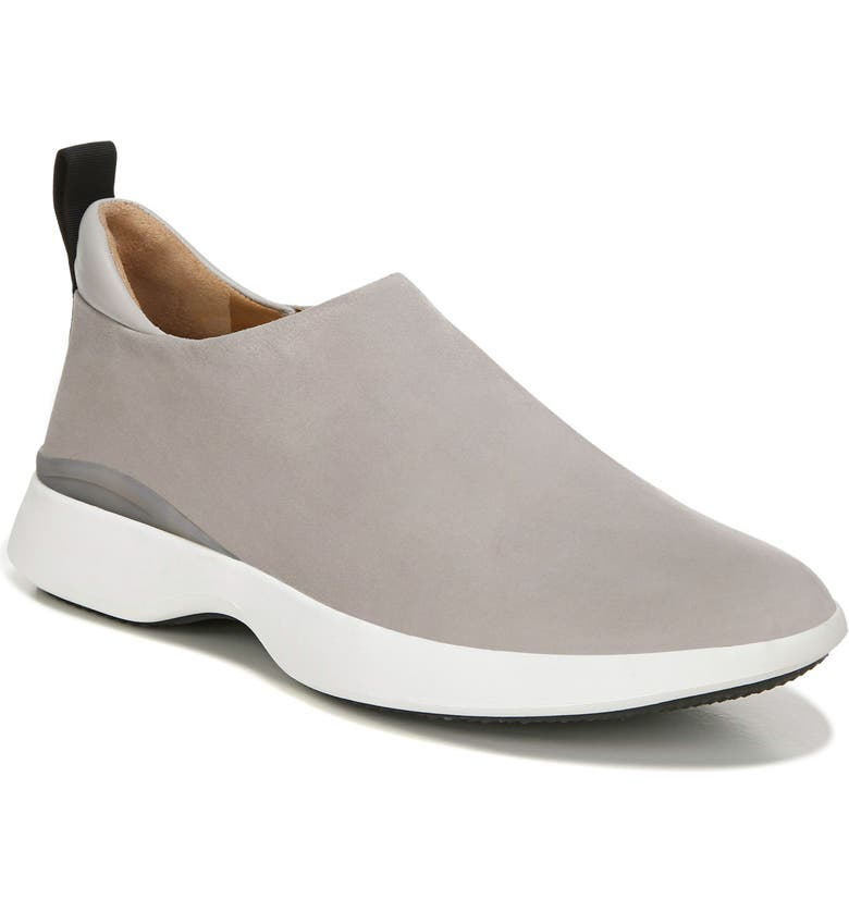 VIA SPIGA Laverno Slip-On Sneaker, Main, color, PUTTY SUEDE