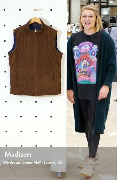 Reversible Suede Vest, sales video thumbnail