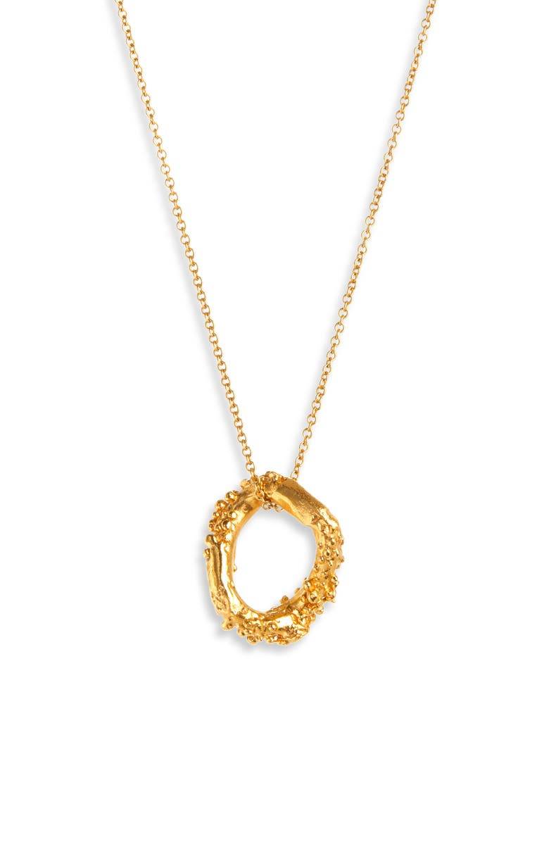ALIGHIERI The Night Shift Necklace, Main, color, GOLD PLATED
