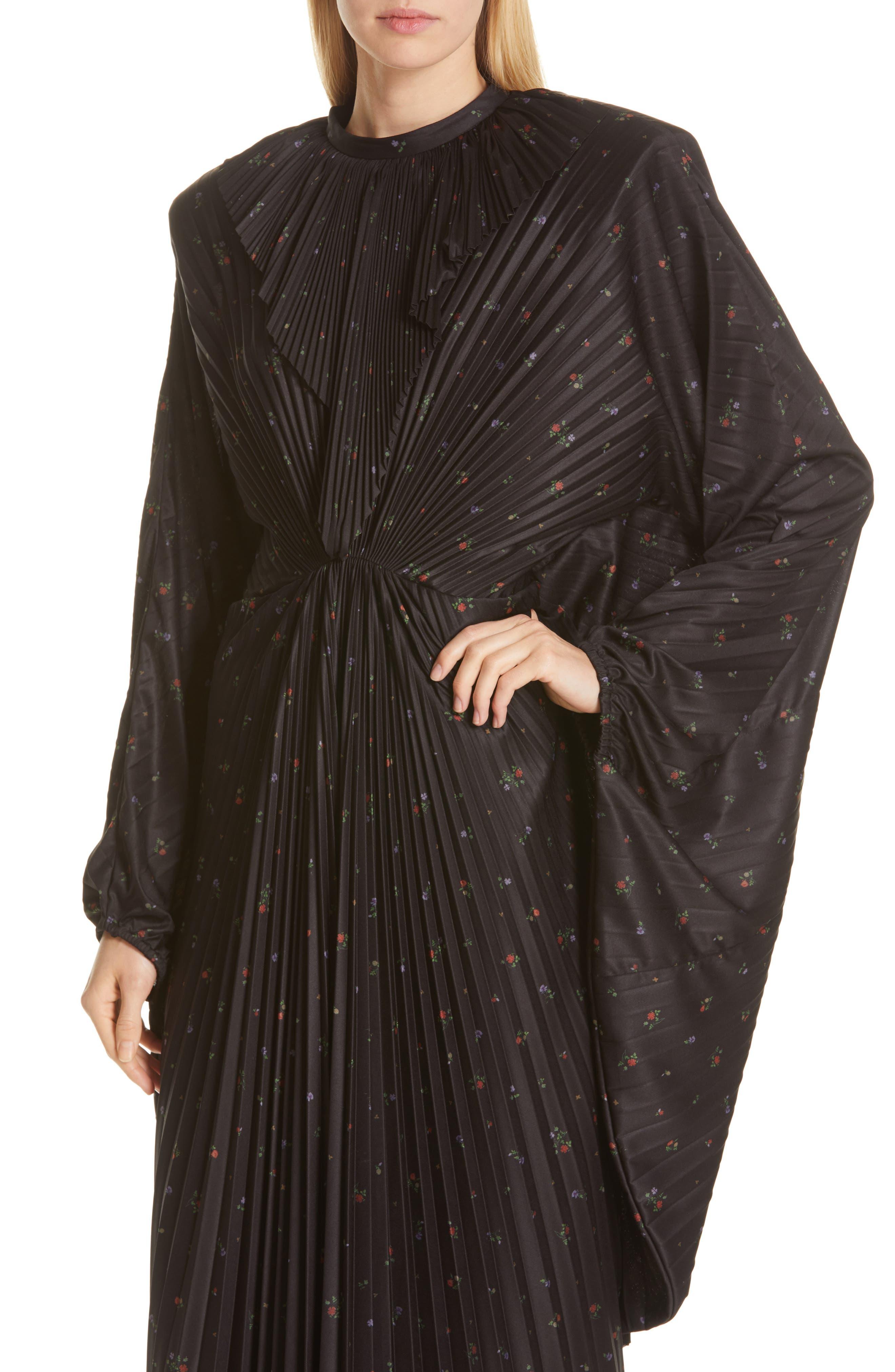 Vetements Dresses Plissé Wing Dress