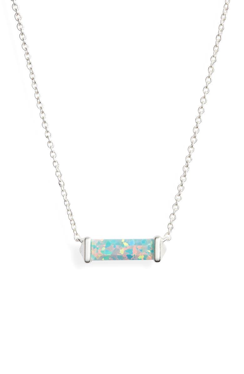 KENDRA SCOTT Rufus Pendant Necklace, Main, color, 334
