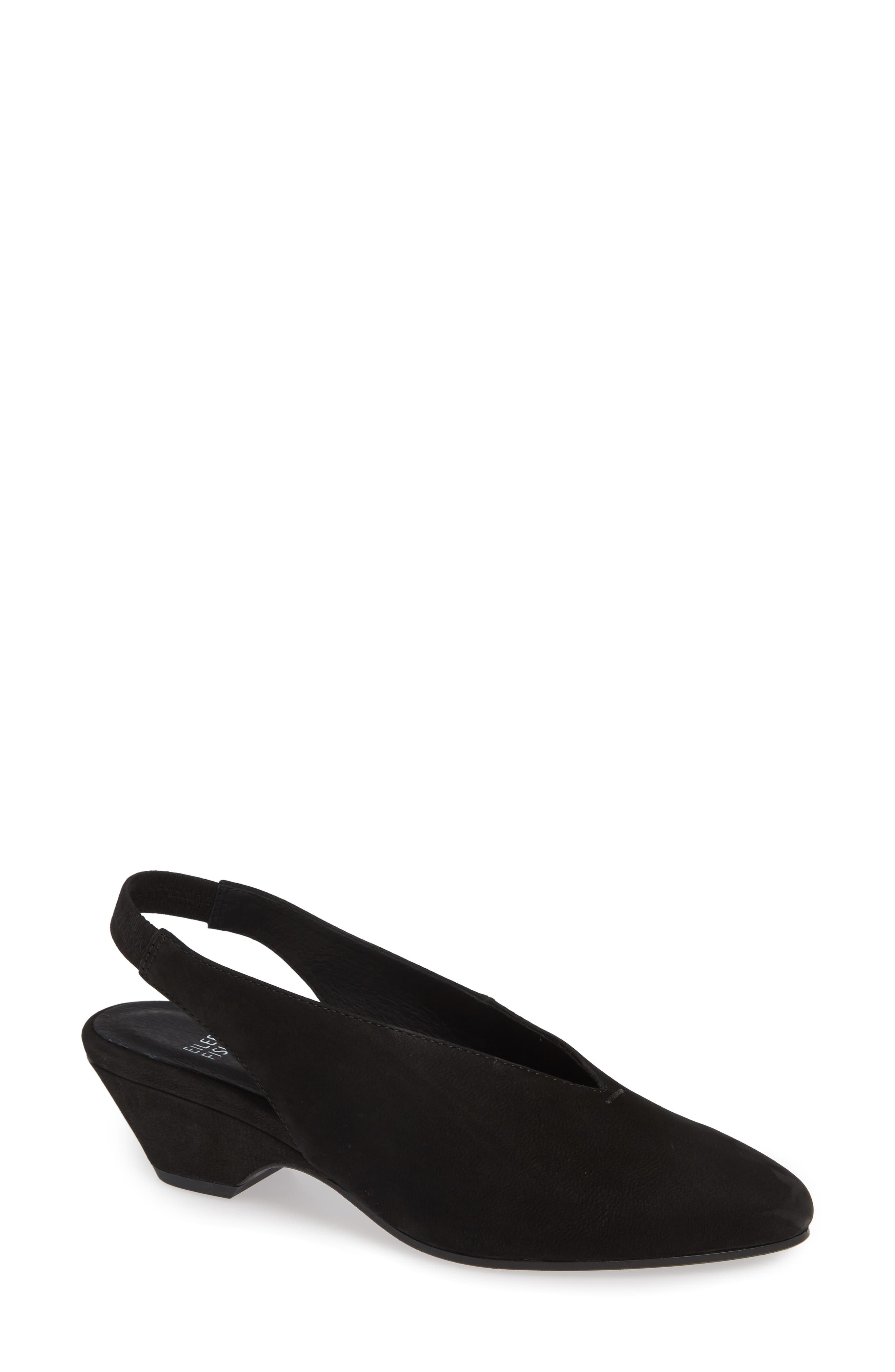 Eileen Fisher Gatwick Slingback Pump, Black