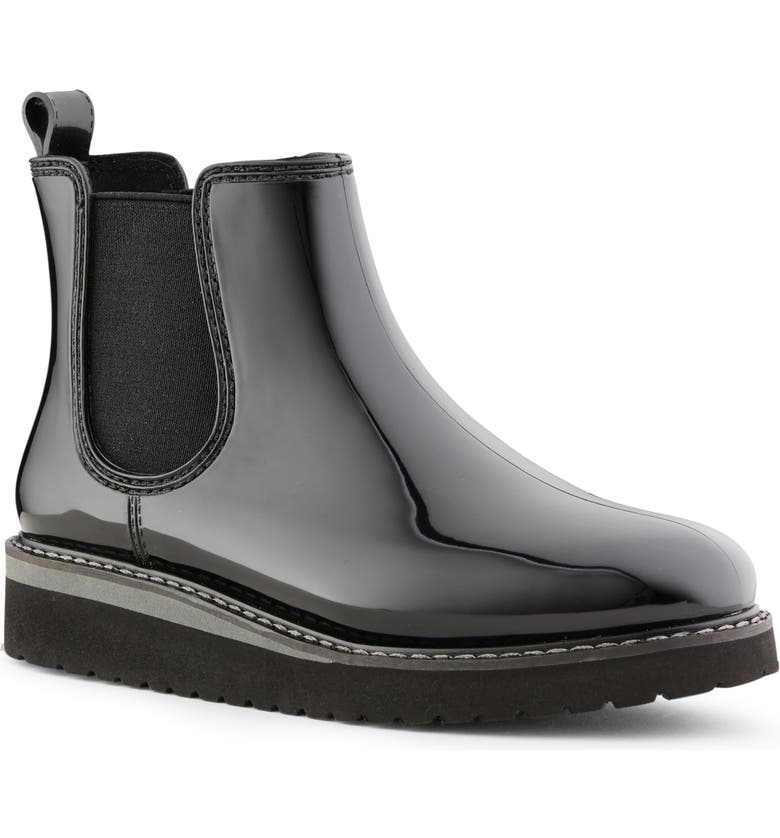 COUGAR Kensington Chelsea Rain Boot, Main, color, BLACK/ CHARCOAL