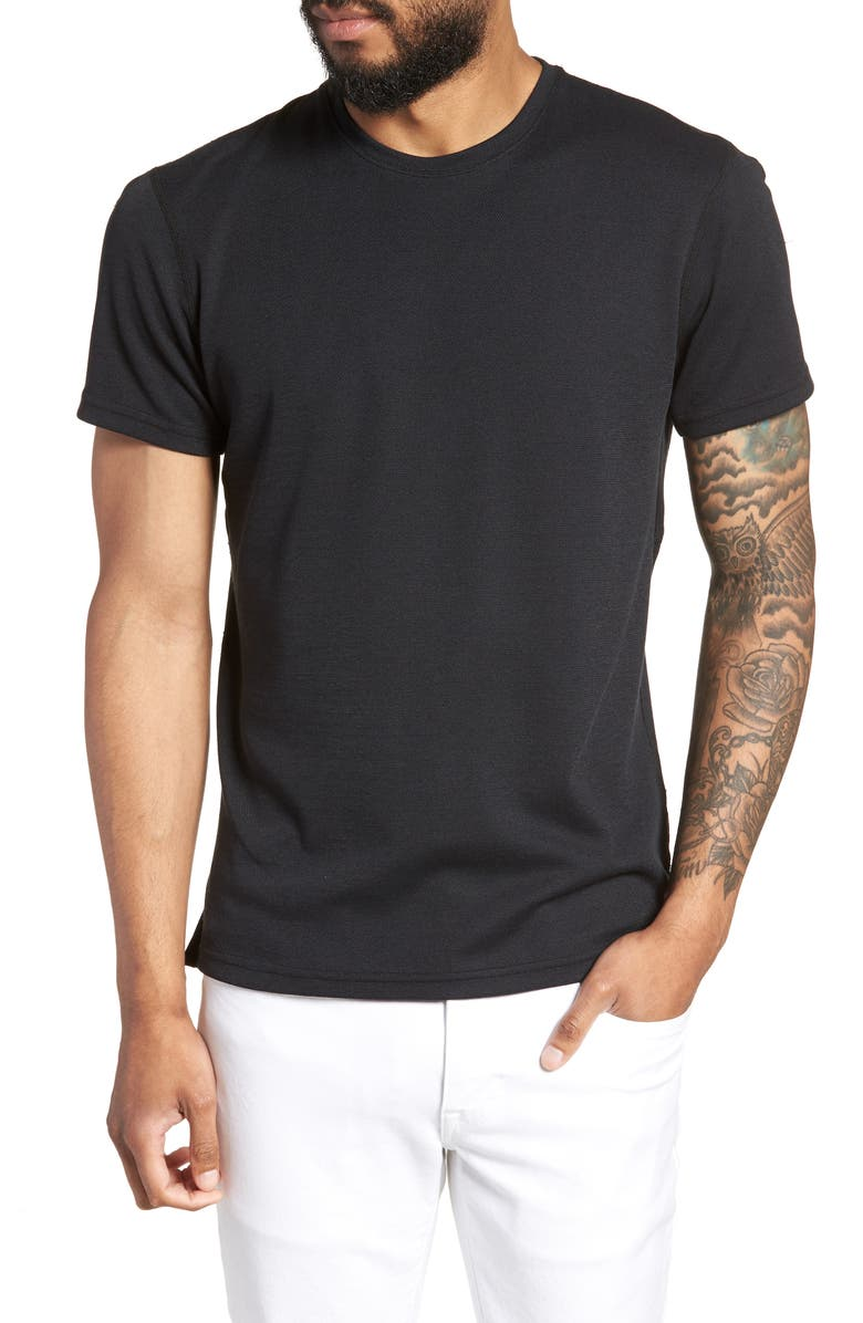 REIGNING CHAMP Power Dry<sup>®</sup> T-Shirt, Main, color, BLACK