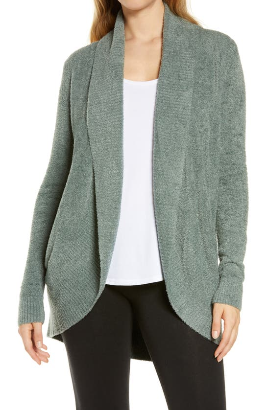 Barefoot Dreamsr Barefoot Dreams Cozychic Lite Circle Cardigan In Agave Green