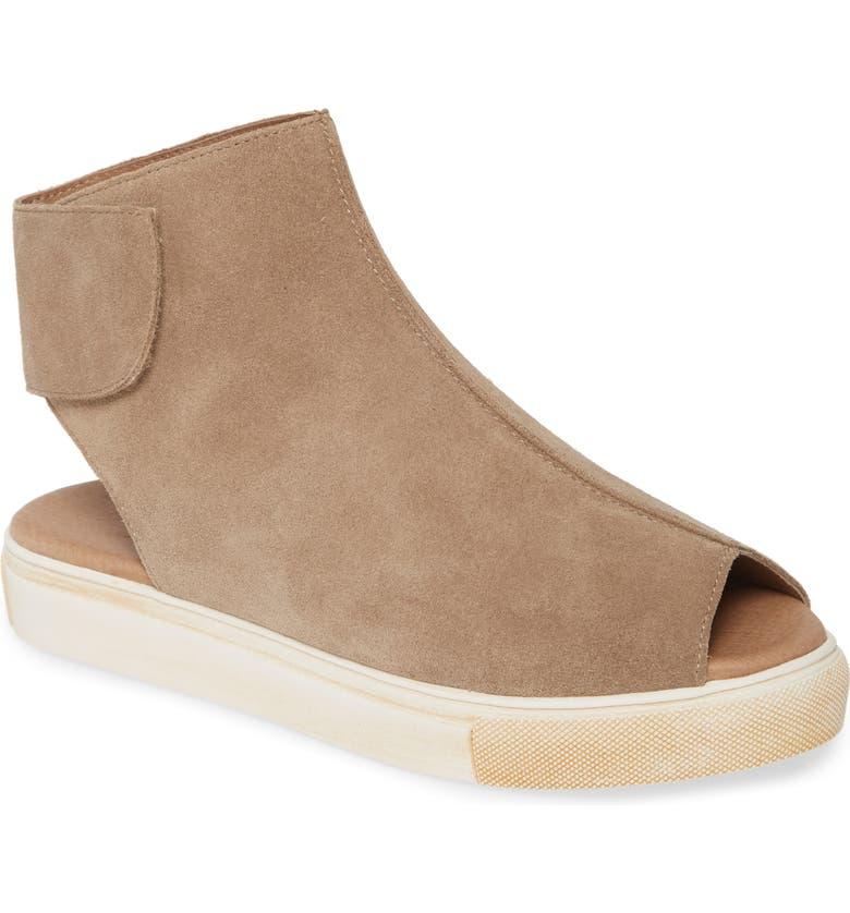 CHOCOLAT BLU Nala Sneaker, Main, color, TAUPE SUEDE