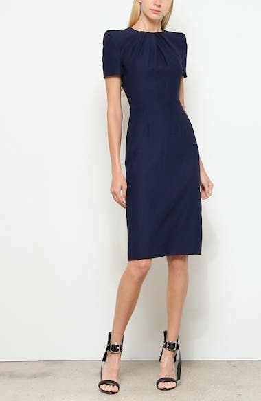 Pleated Sheath Dress, video thumbnail