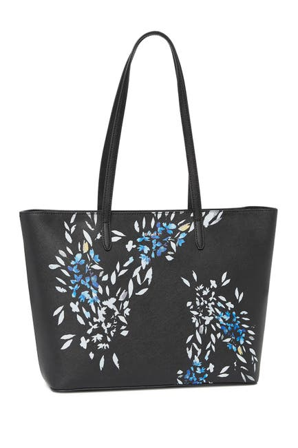Image of DKNY Top Zip Leather Tote