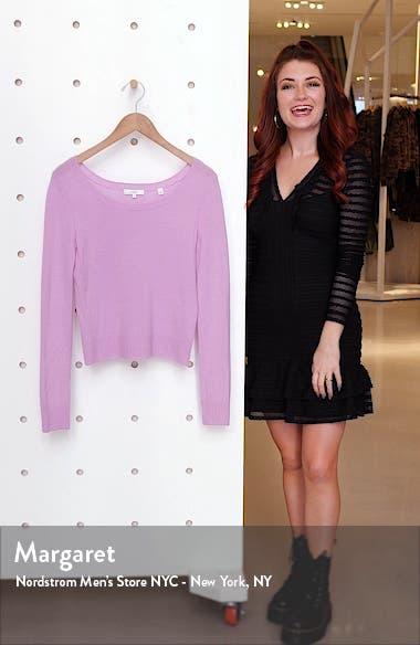 Ballet Neck Cashmere Sweater, sales video thumbnail