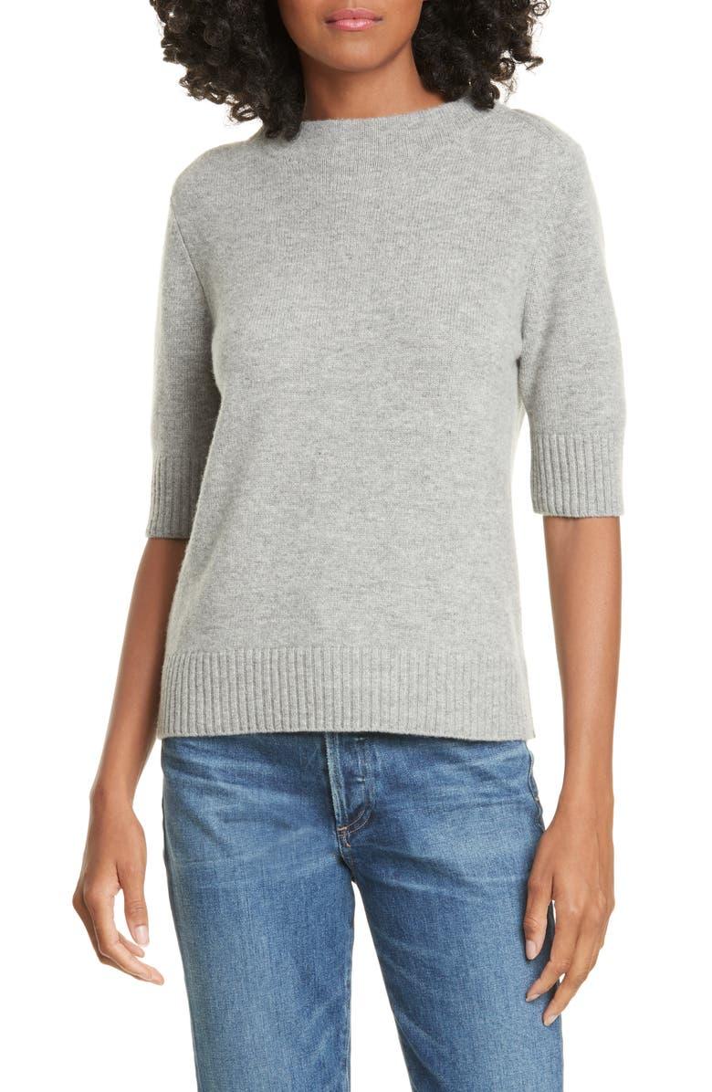 JUDITH & CHARLES Equinox Wool & Cashmere Sweater, Main, color, HUSKY