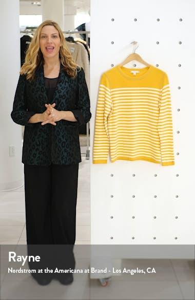 Stripe Crewneck Sweater, sales video thumbnail