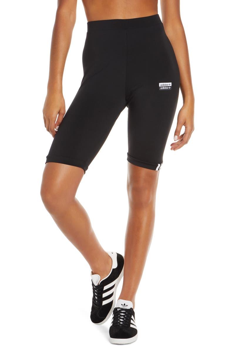 ADIDAS ORIGINALS Cycling Bike Shorts, Main, color, BLACK