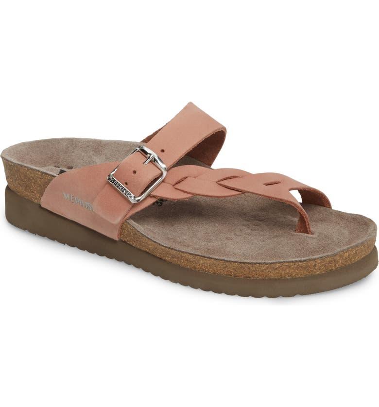 8be92425e1 Mephisto 'Helen Twist' Nubuck Leather Sandal (Women) | Nordstrom