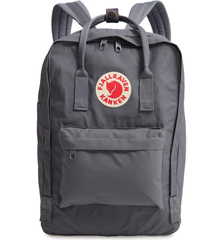 FJÄLLRÄVEN 'Kånken' Laptop Backpack, Main, color, SUPER GREY