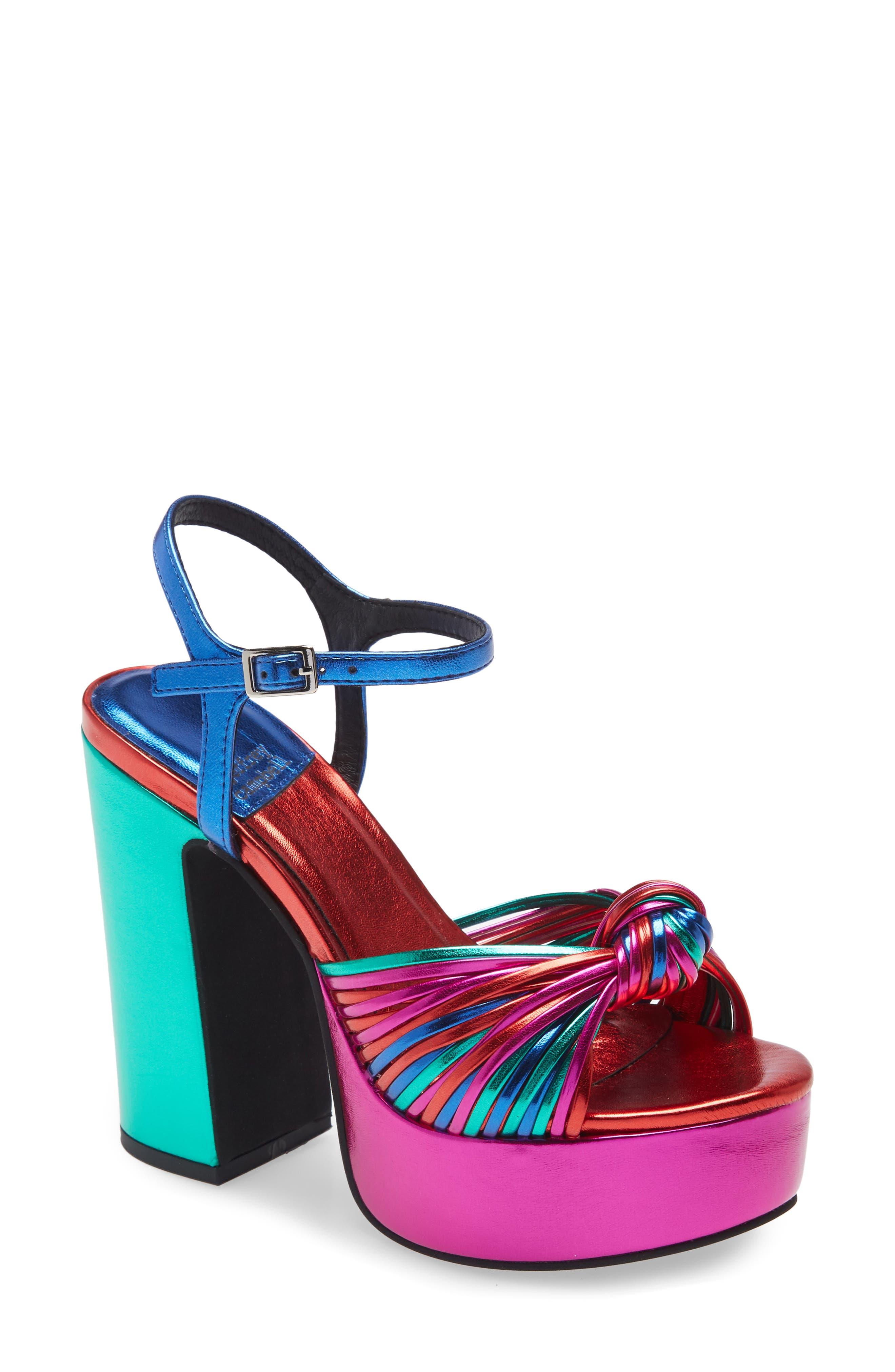 Disque-O Platform Sandal
