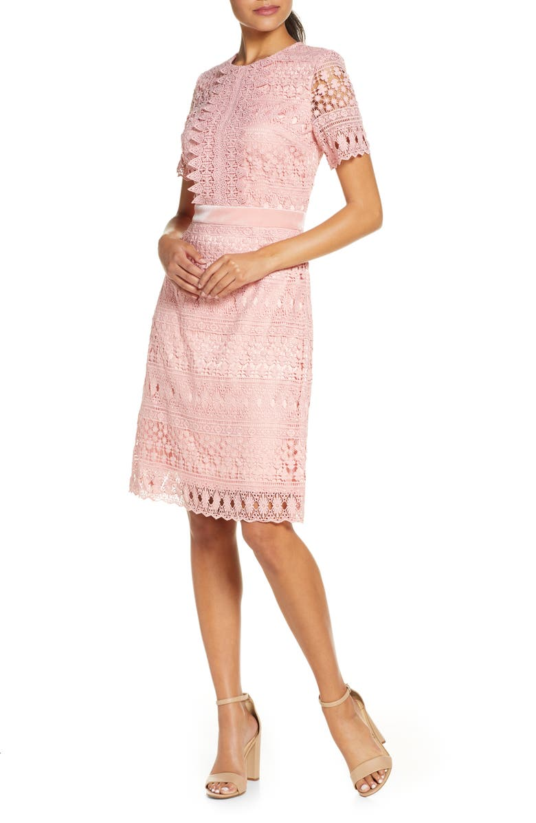 RACHEL PARCELL Lace Dress, Main, color, 680