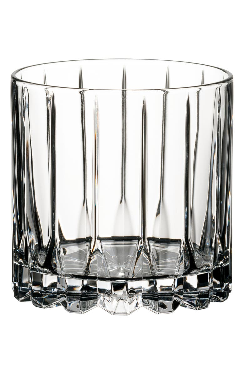 RIEDEL Drink Specific Glassware Set of 2 Rocks Glasses, Main, color, CLEAR