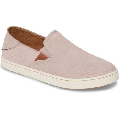 Olukai Pehuea Slip-On Sneaker, Pink