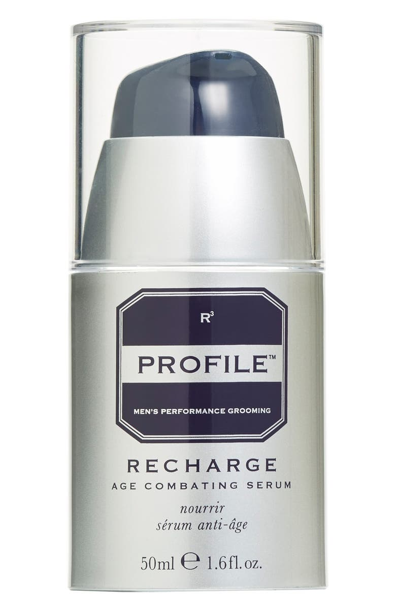 PROFILE<SUP>®</SUP> 'Recharge' Age Combating Post-Shave Serum, Main, color, 000