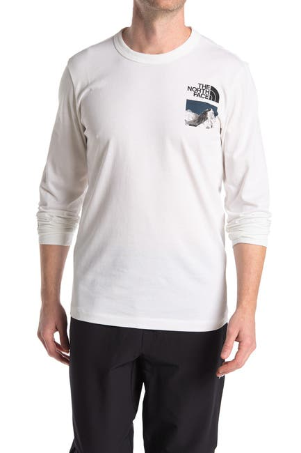 Image of The North Face Pumori Long Sleeve Graphic T-Shirt