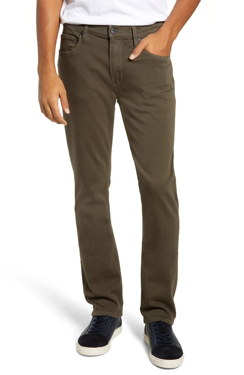 PAIGE Transcend - Federal Slim Straight Leg Jeans, Main, color, RIVER MOSS