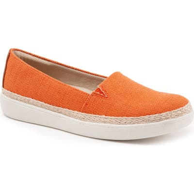 Trotters Accent Slip-On, Orange