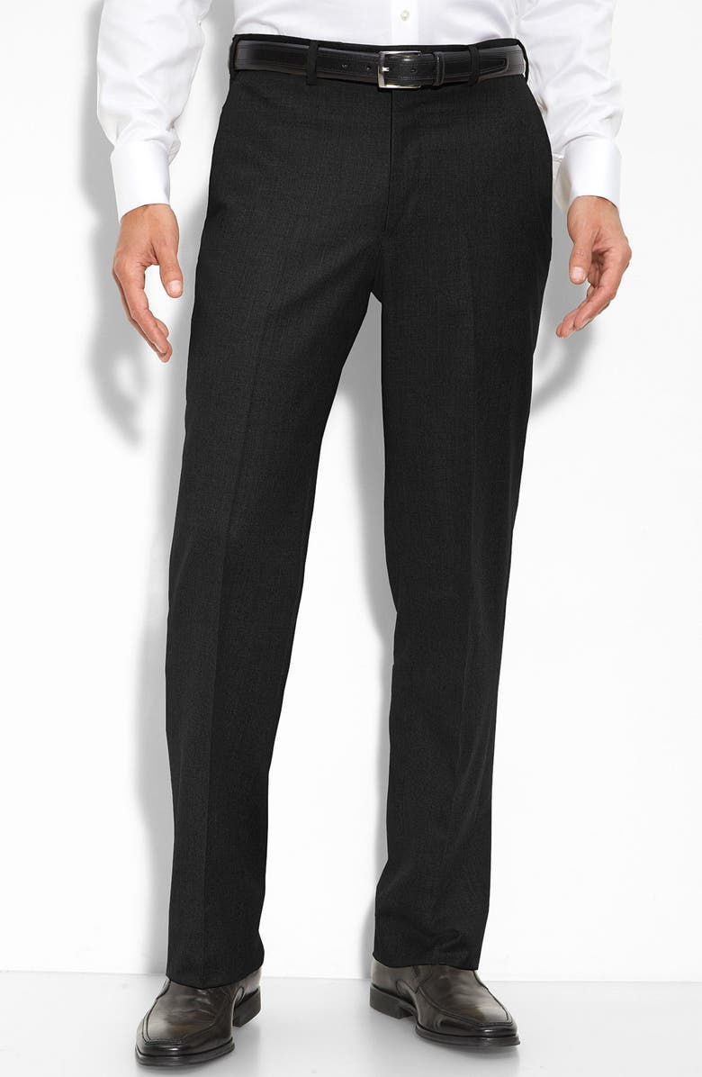 huge discount cbed9 b0df7 Wool & Cashmere Flat Front Trousers