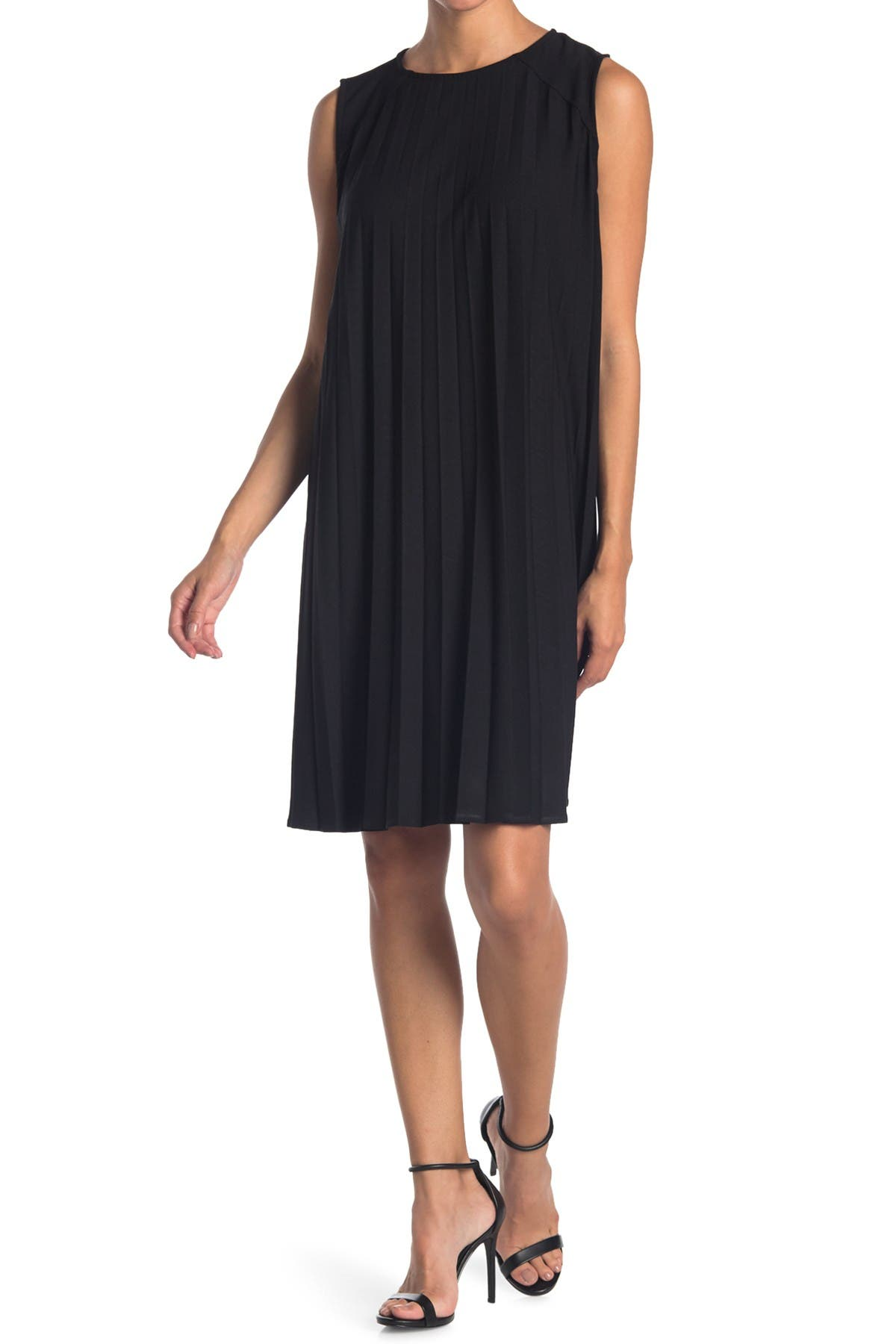 Image of TASH + SOPHIE Pleated Shift Dress