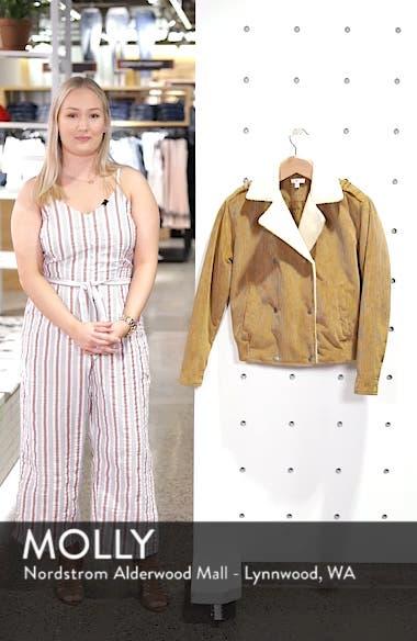 Fleece Lined Corduroy Jacket, sales video thumbnail