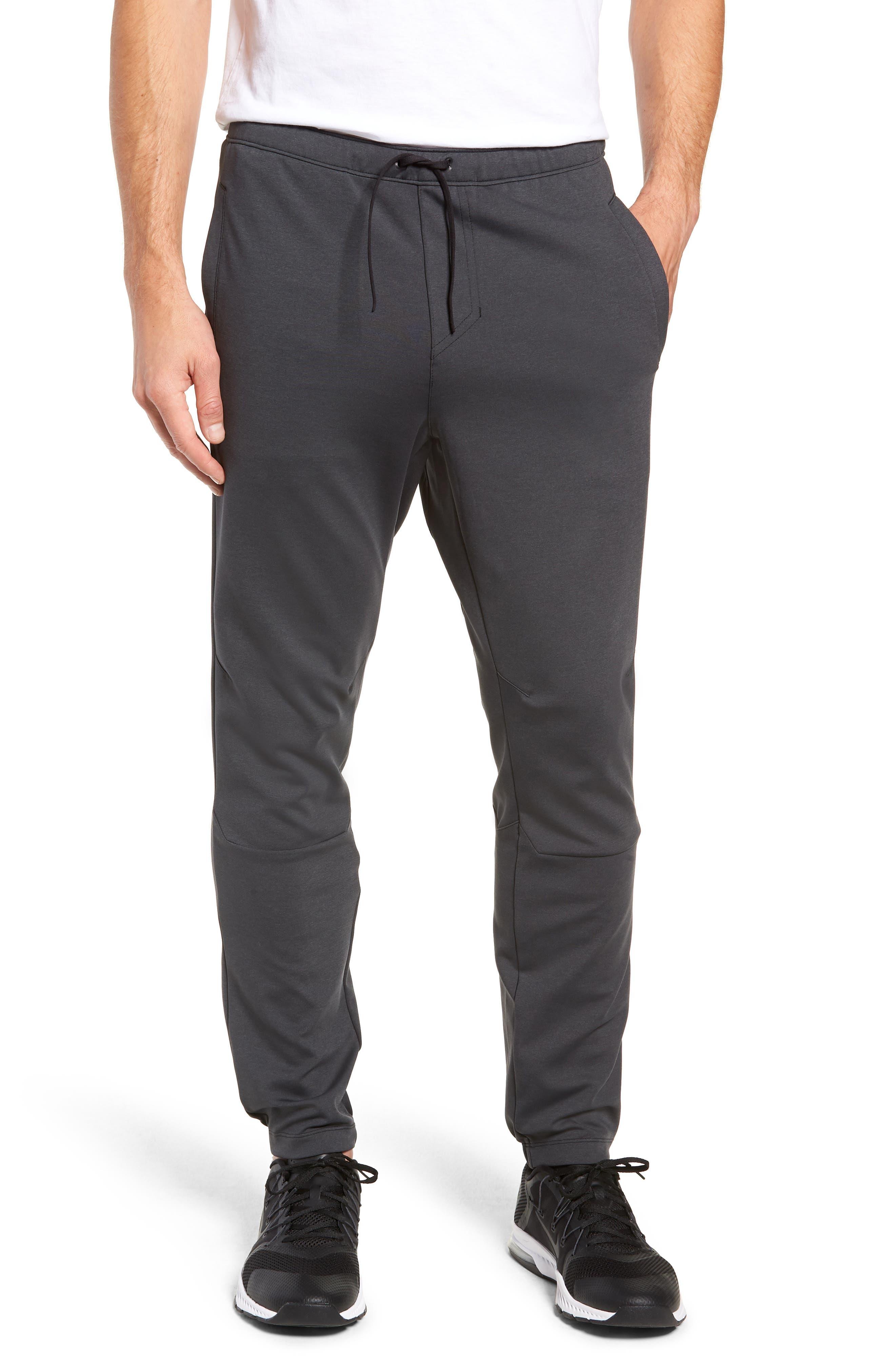 Rhone Tactel Nylon Sweatpants, Black