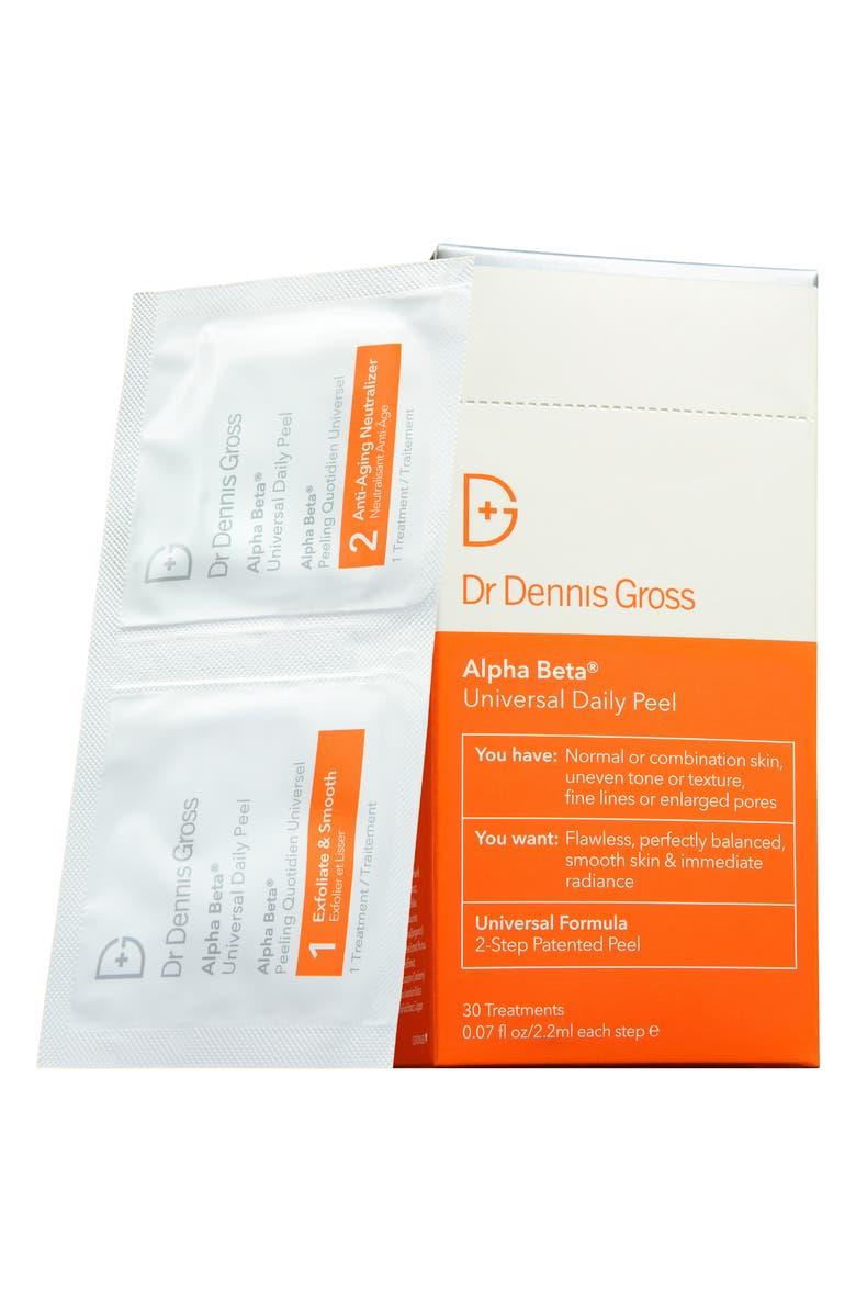 DR. DENNIS GROSS Skincare Alpha Beta<sup>®</sup> Peel Original Formula - 30 Applications, Main, color, NO COLOR