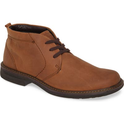 Ecco Turn Gore-Tex Waterproof Chukka Boot,9.5 - Brown