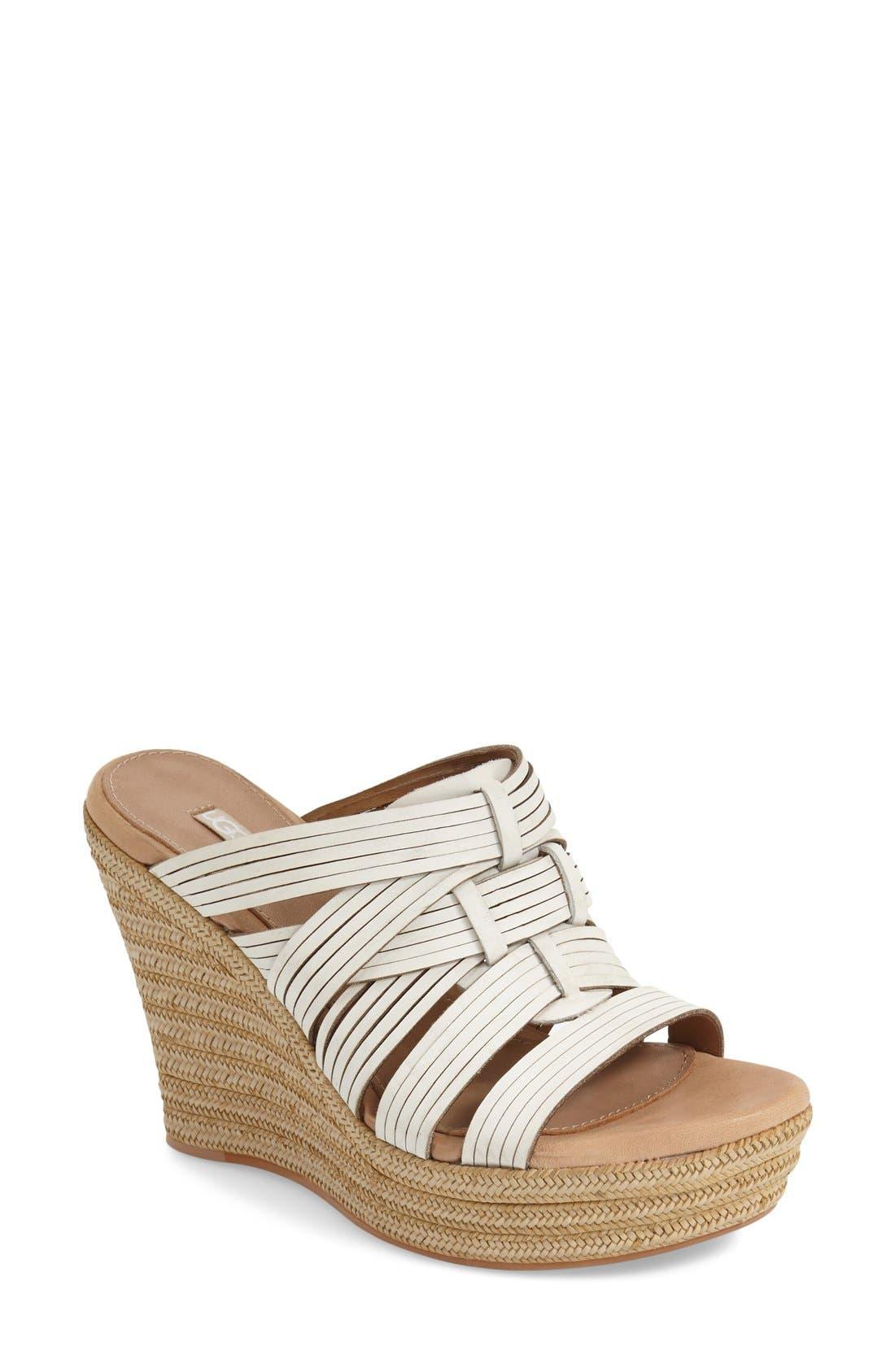 ,                             'Melinda' Platform Wedge Sandal,                             Main thumbnail 6, color,                             143