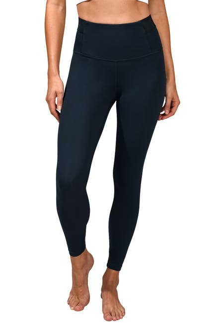 Image of 90 Degree By Reflex Lux Supportive Waist Ankle Leggings