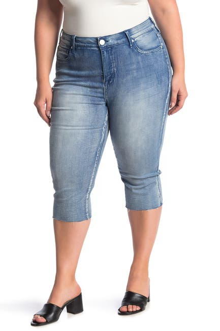 Image of Seven7 High Rise Breezy Crop Jeans