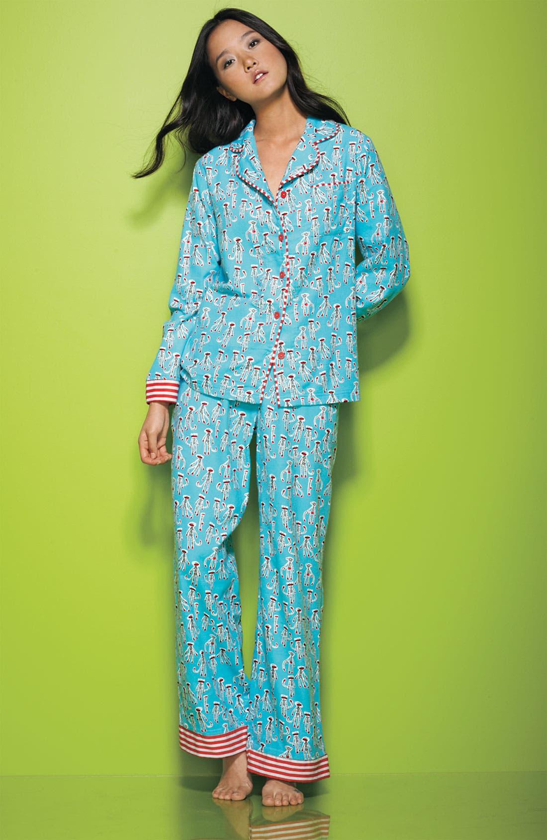 ,                             Flannel Pajamas,                             Alternate thumbnail 30, color,                             440