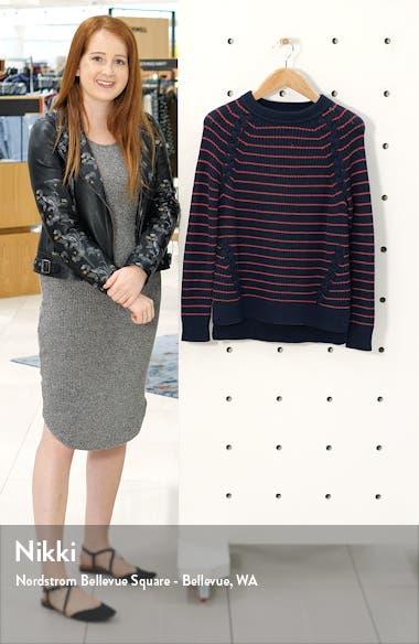 Break Stripe Lattice Sweater, sales video thumbnail