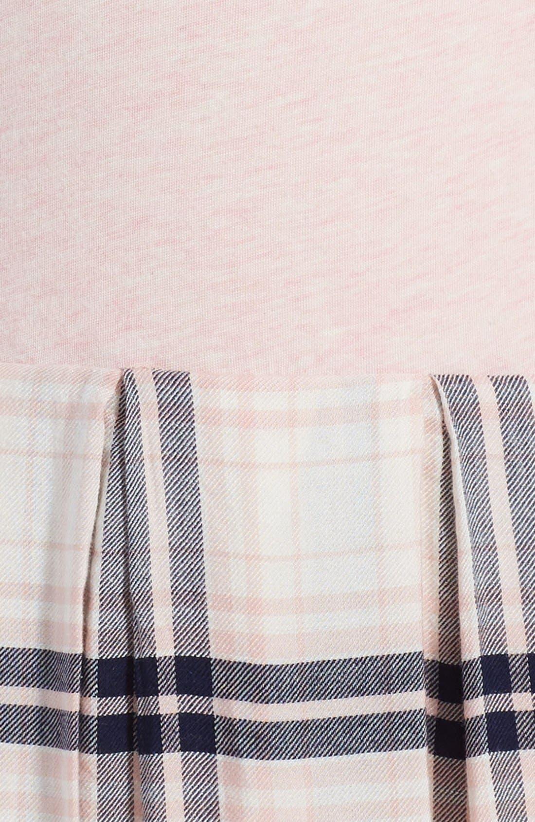 ,                             Pleated Knit Dress,                             Alternate thumbnail 6, color,                             680