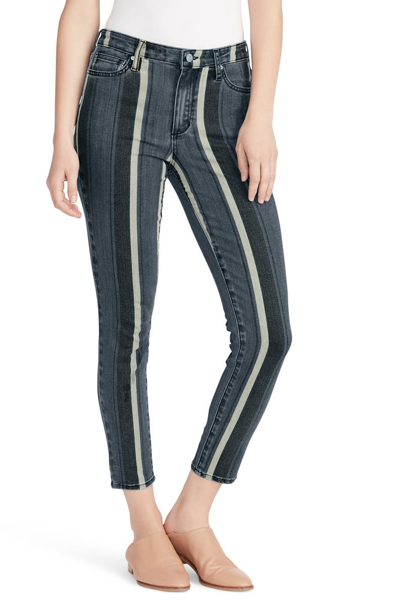 ELLA MOSS High Waist Skinny Fit Ankle Jeans, Main, color, 420