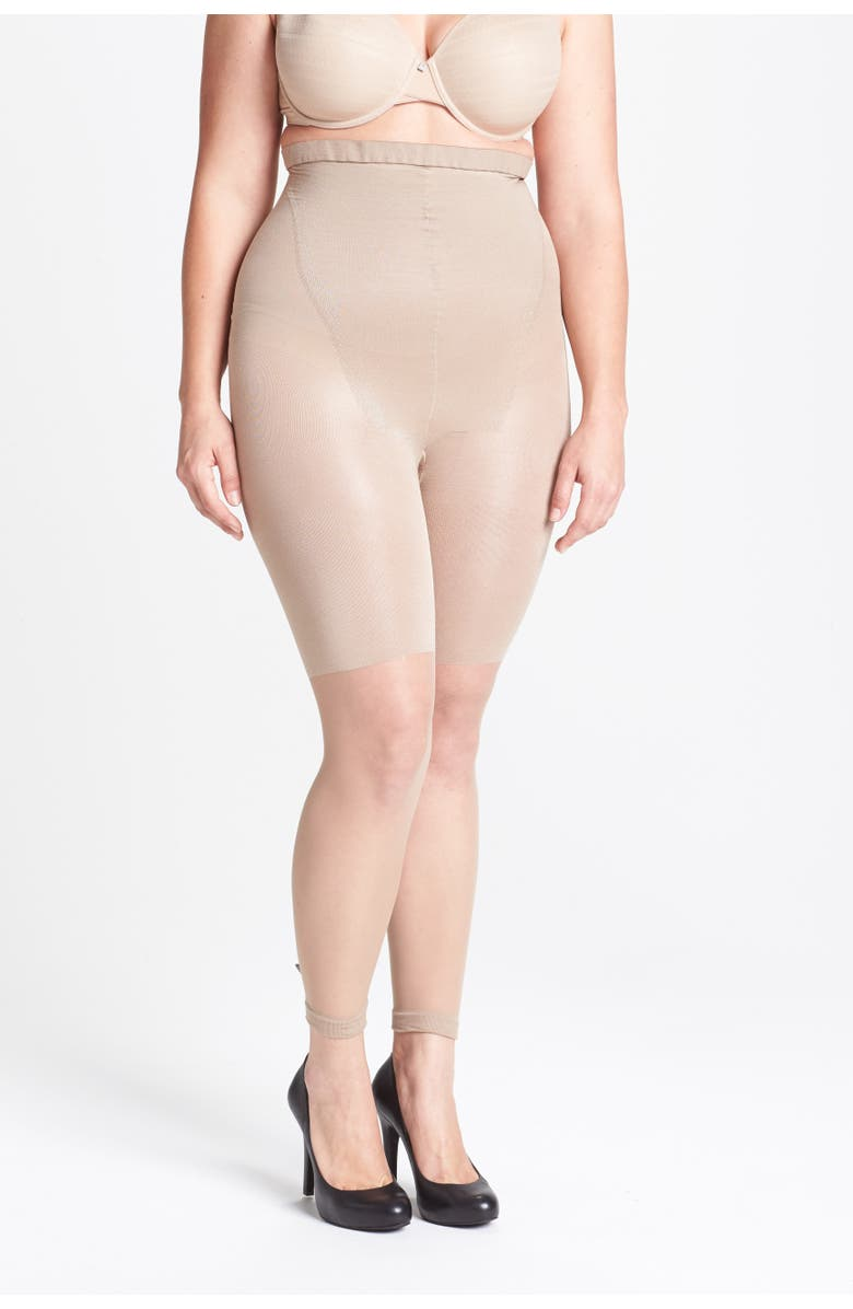 SPANX<SUP>®</SUP> Higher Power Capri Shaper, Main, color, NUDE