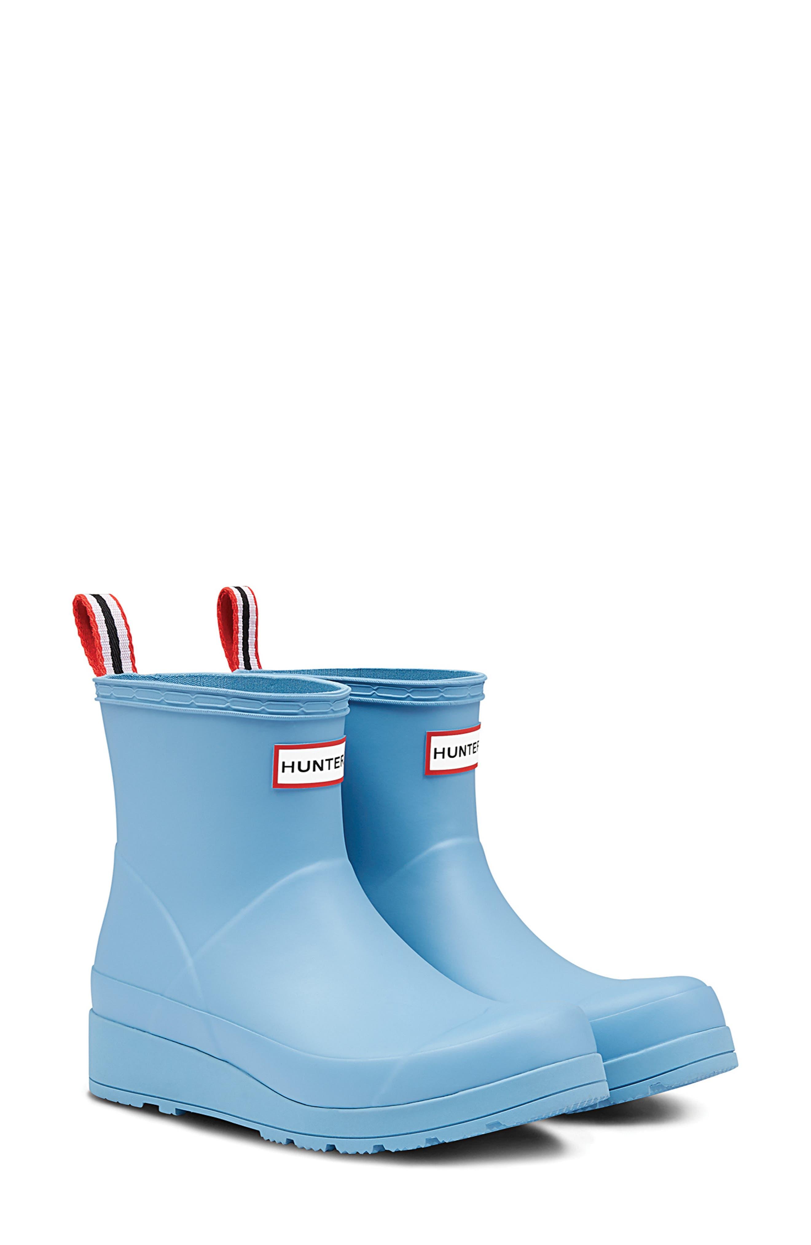 Hunter Original Play Waterproof Rain Bootie, Blue
